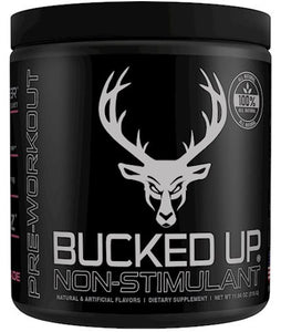 BUCKED UP Stim Free Pre-Workout