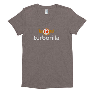 Women's Crew Neck Turborilla Logo T-shirt