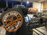 Work Hard Play Hard Tee - Knucklehead Garage
