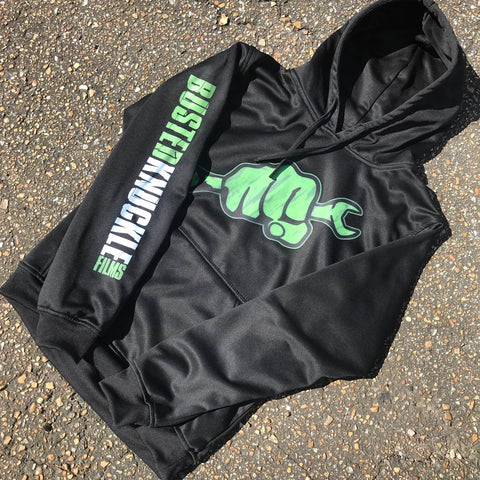 BK Performance Hoodies - BLACK - Busted Knuckle Gear