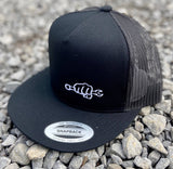 BK FLATBILL Snapback Hat - Busted Knuckle Gear