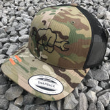 CAMO Snapback Hats - Busted Knuckle Gear