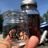 Moonshine Jar Shot Glass Limited Edition