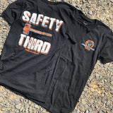 Safety Third Tee - Busted Knuckle Gear