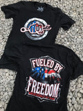 Fueled by Freedom Tee - Busted Knuckle Gear