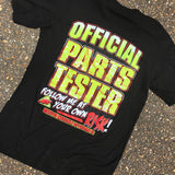 Official Parts Tester Tee - Busted Knuckle Gear
