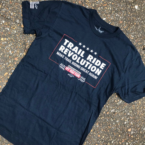 Trail Ride Revolution Tee - Busted Knuckle Gear