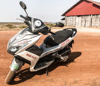 The Best Place to Rent a Motorbike in Kampot
