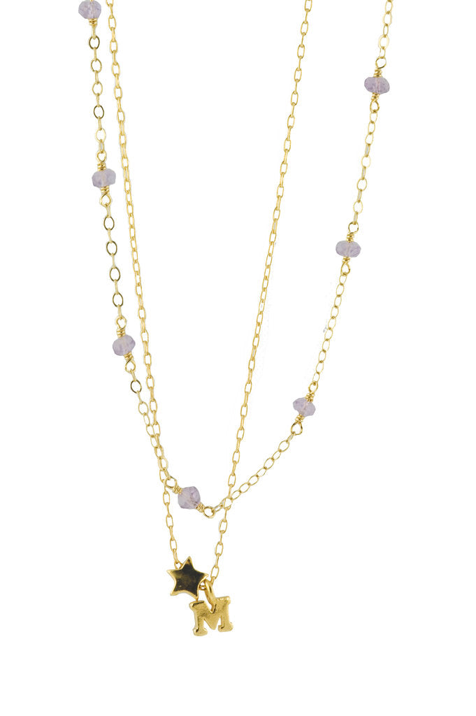 starletter charm necklace