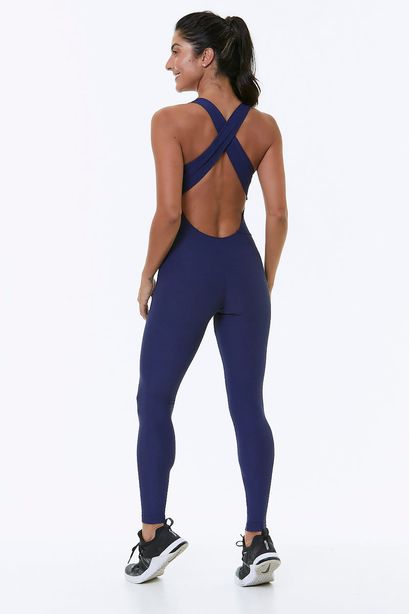 Pink Axis Workout Jumpsuit