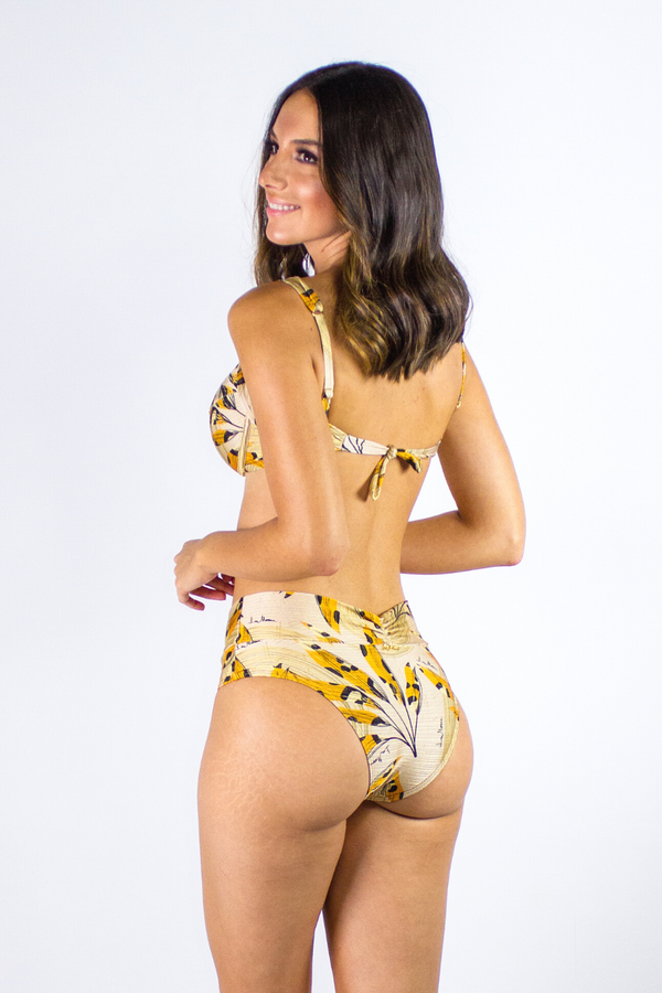 Golden Hour High Waist Bikini Set