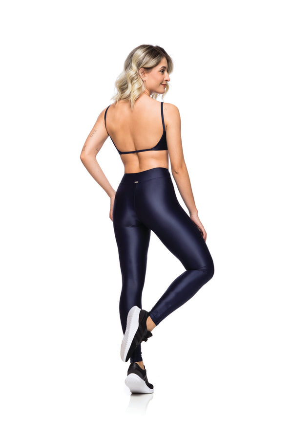 Navy Karen High Waisted Legging