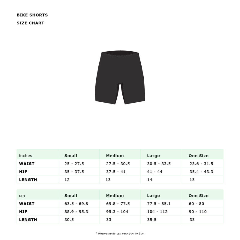 KAPANA RIBBED BIKER SHORTS