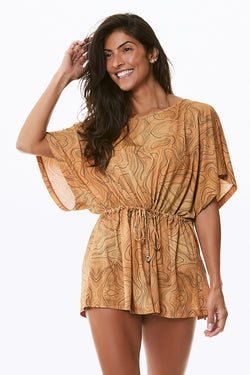 ITAPUA FLOWY COVER UP DRESS