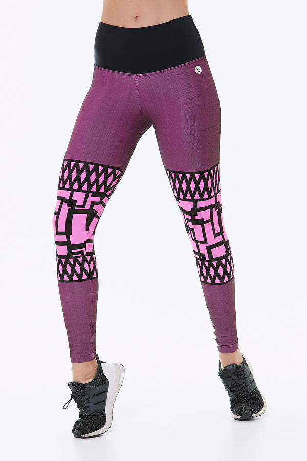 GRAPE TRAPEZIUM LEGGING