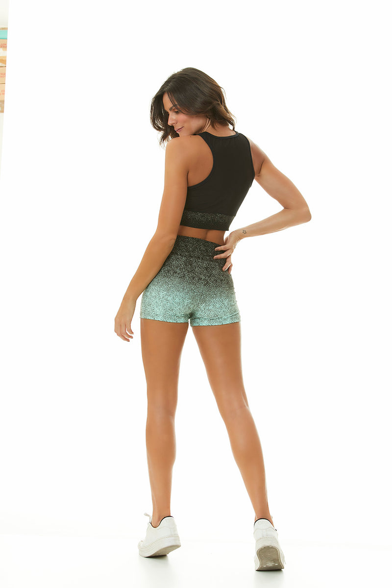 OMBRE WORKOUT SHORTS