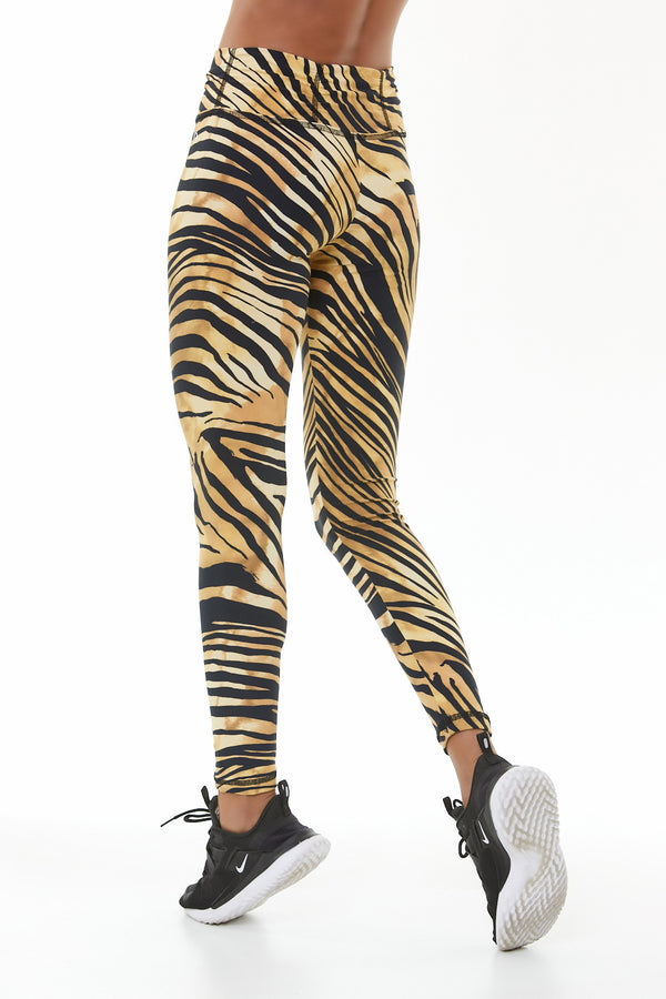 GOLDEN ZEBRA LEGGING