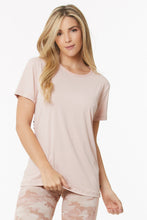 Load image into Gallery viewer, blush workout shirt
