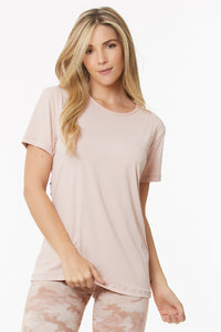blush workout shirt