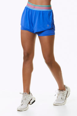 brofitwear Serena 2-in-1 Running Shorts