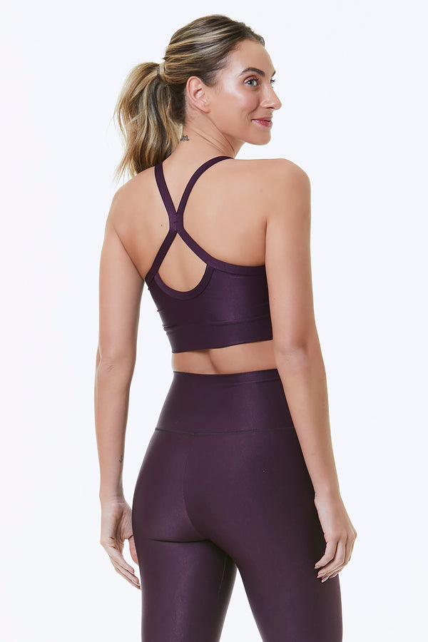 PURPLE ATACAMA SPORTS BRA