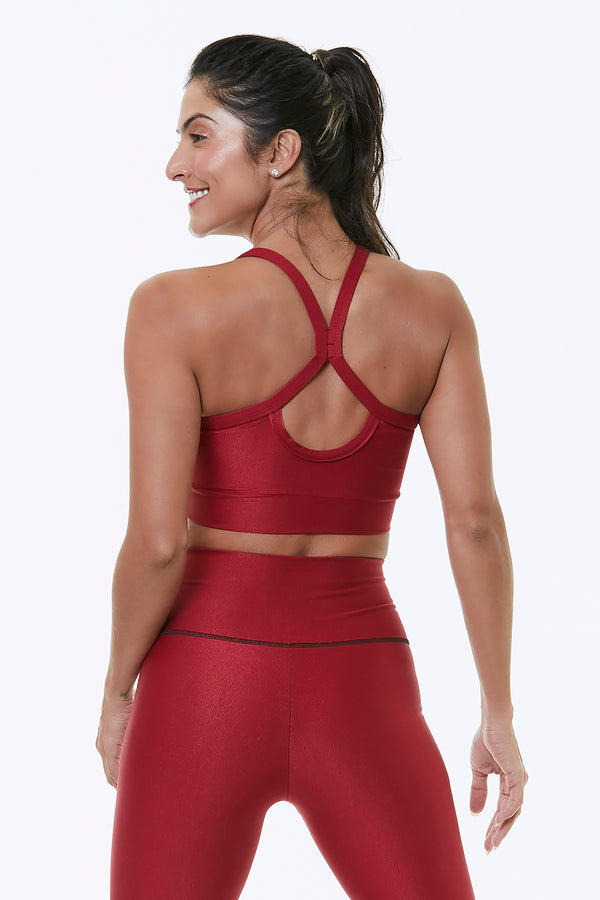 RED ATACAMA SPORTS BRA