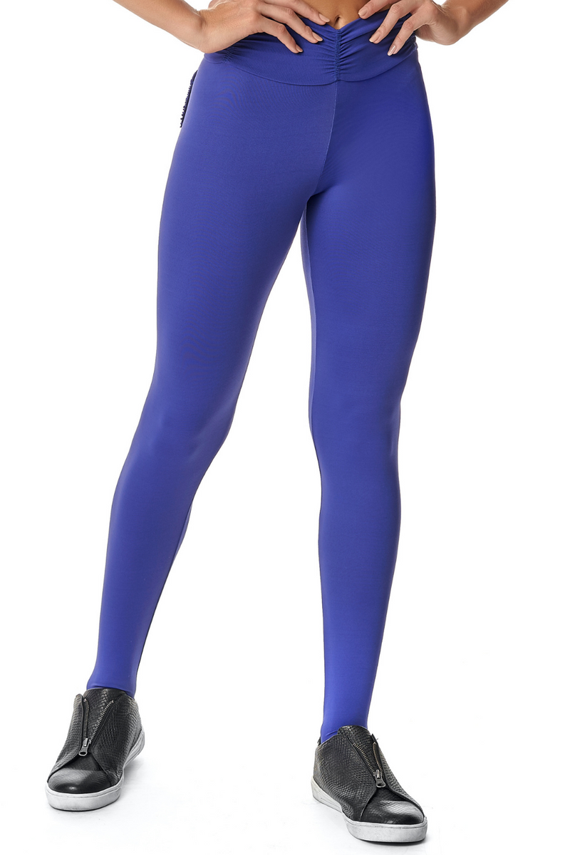 BLUE BIC PUSH UP LEGGINGS