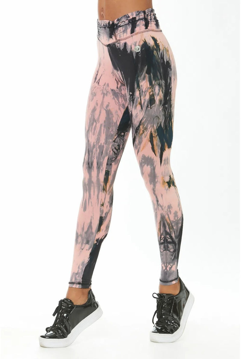 STORM - TIE DYE HIGH WAISTED LEGGINGS