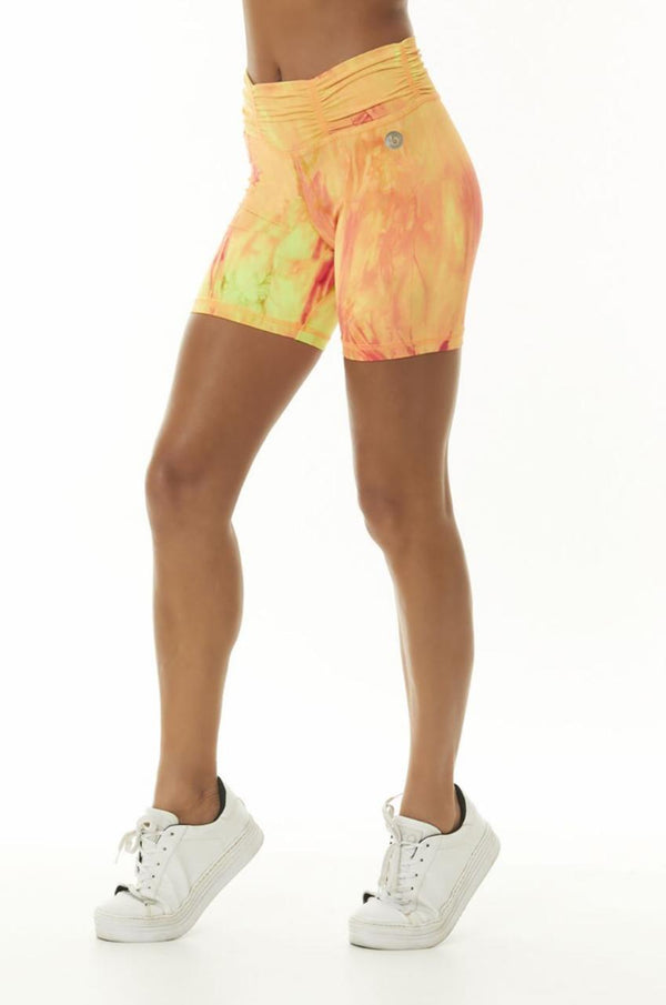 ON FIRE - TIE DYE SHORTS