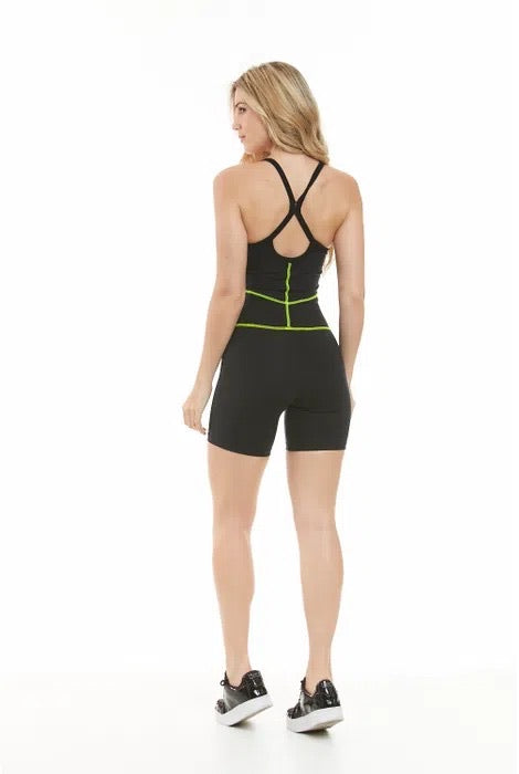 Rachel Workout Romper