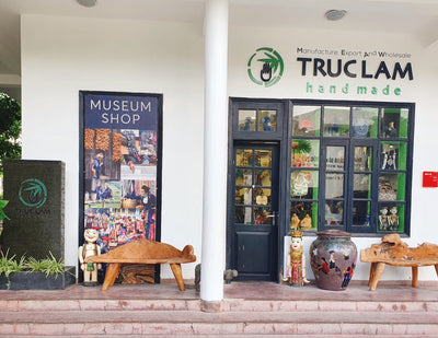 TRUC LAM HANDMADE IS NOW AVAILABLE AT THE VIETNAM MUSEUM OF ETHNOLOGY
