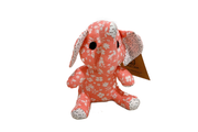Mini Stuffed Elephant Floral Cotton Fabric