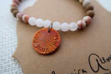 """Find Your Light"" - Handcrafted Bracelet"