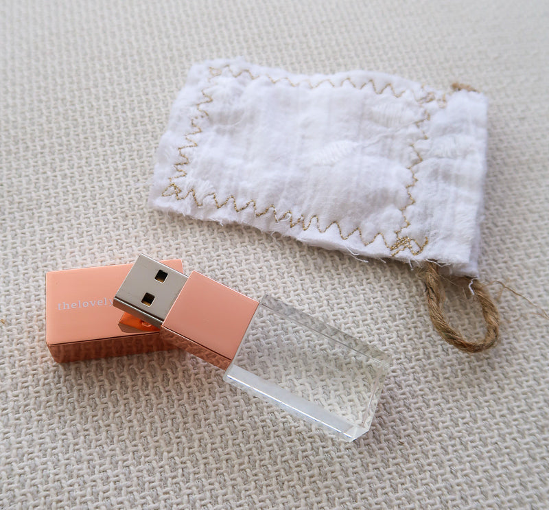 ROSE GOLD USB Drive - Full Catalogue
