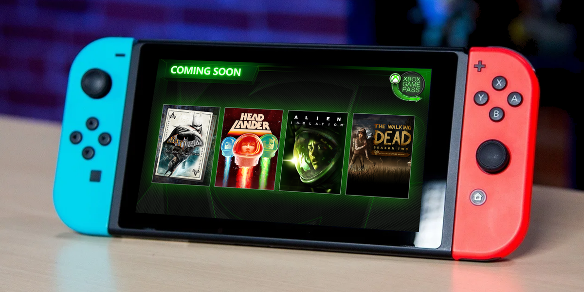 It looks like the Xbox Game Pass will come to    Nintendo
