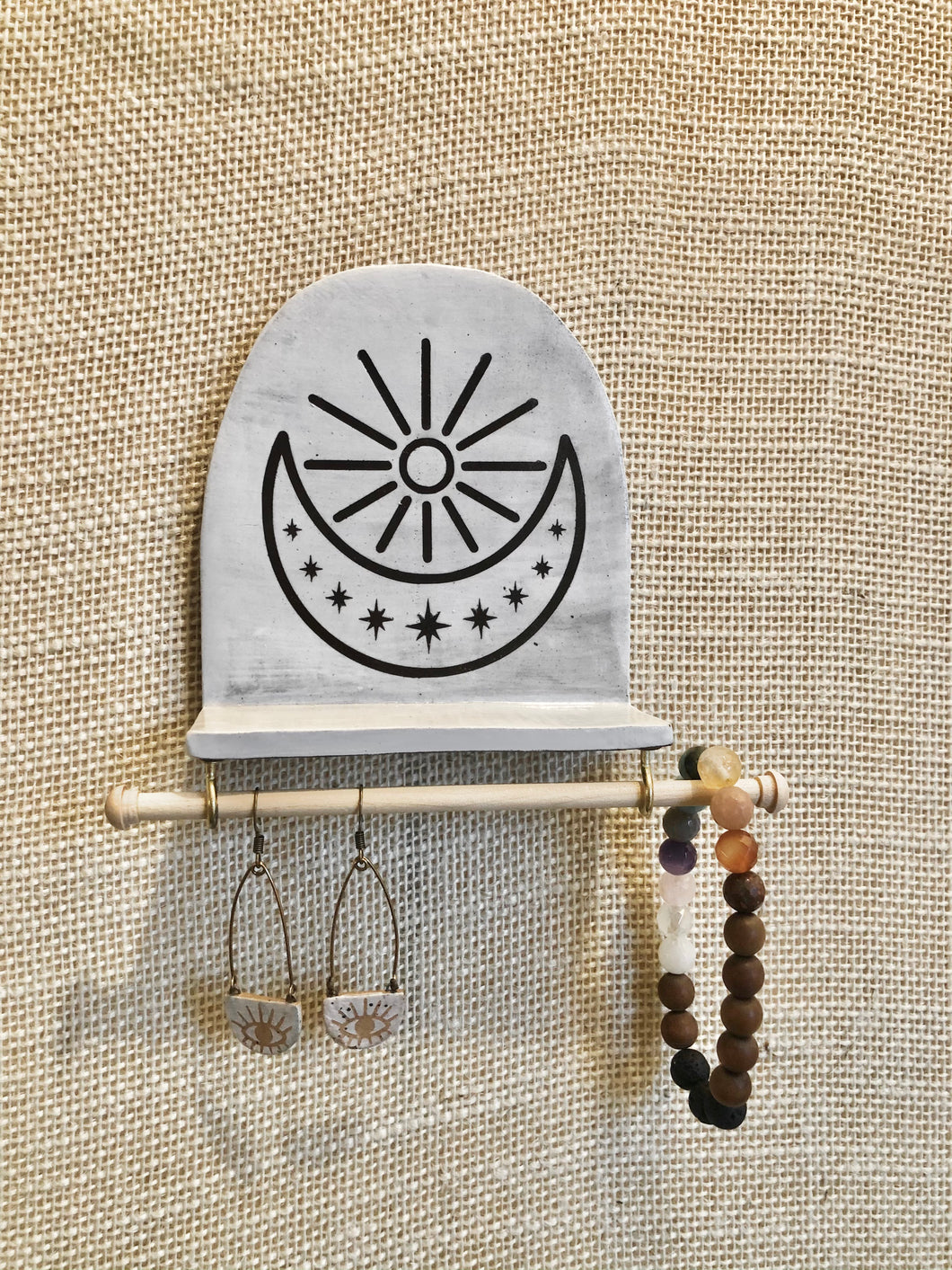 Stars Sun & Moon Jewelry Display (Small)