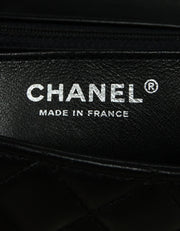 Chanel '19 Black Lambskin Mini Rectangular Classic Flap Bag