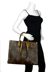 Louis Vuitton Reverse Giant Monogram Onthego Tote Bag