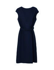 Oscar de la Renta Sleeveless Dress w/ Belt sz 14