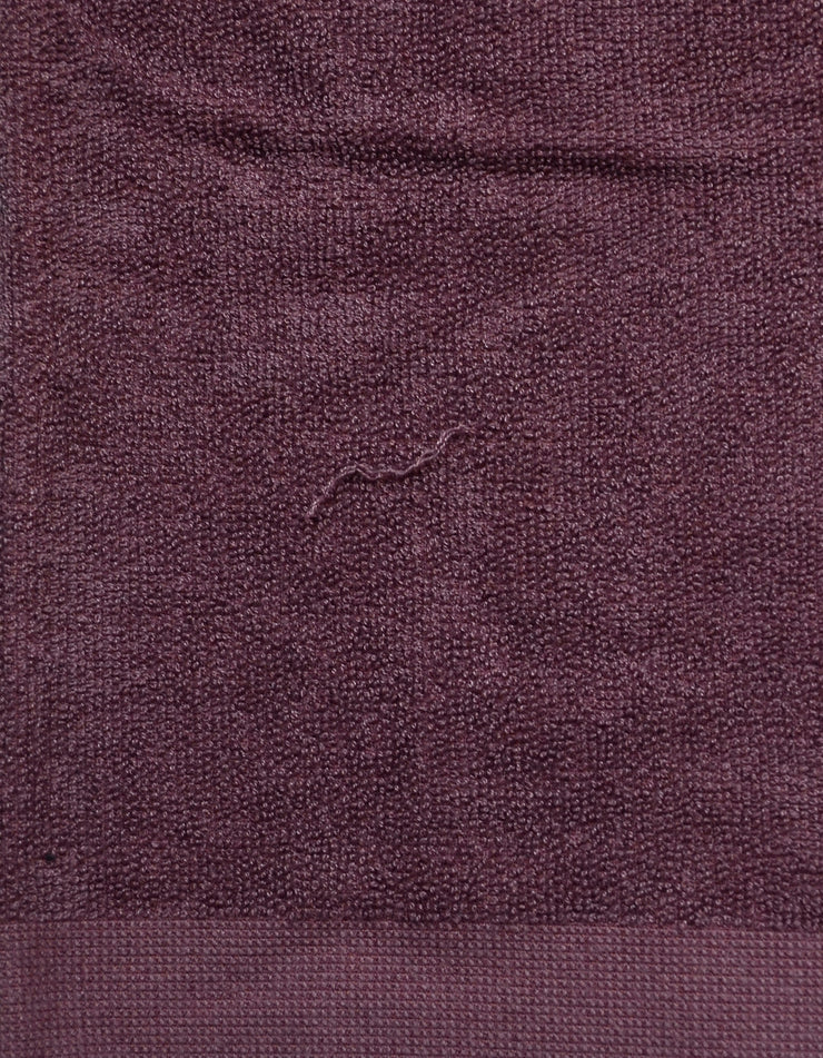 Chanel Purple XL CC Cotton Beach Towel