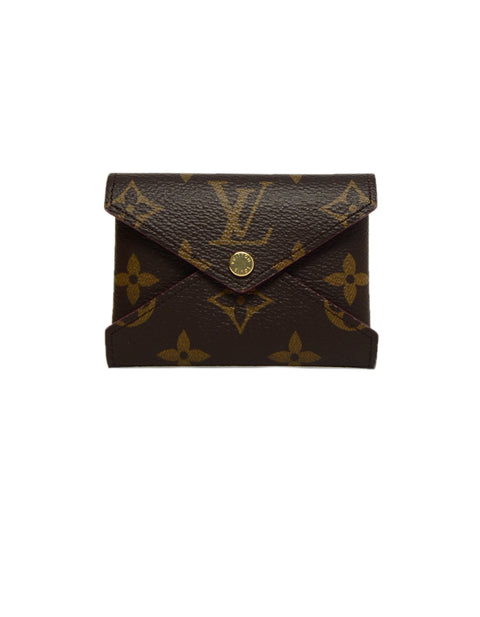 Louis Vuitton Coated Canvas Monogram Kirigami Pochette Set w/ Initials