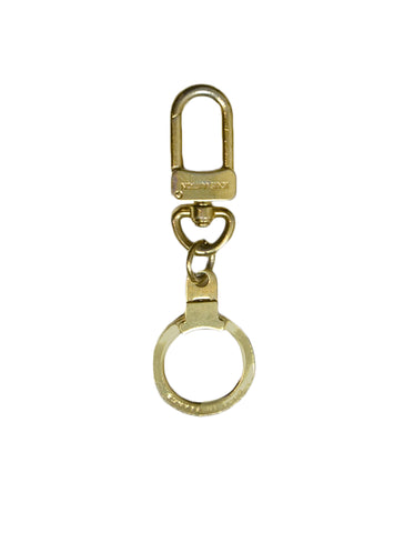 Louis Vuitton Goldtone Key Ring Pochette Extender