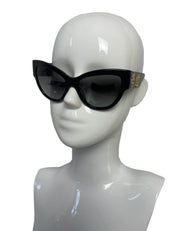 Versace Black Mod 4322 5064/8h Cat Eye Sunglasses