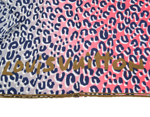 Louis Vuitton Stephen Sprouse XL Leopard Print Silk Scarf