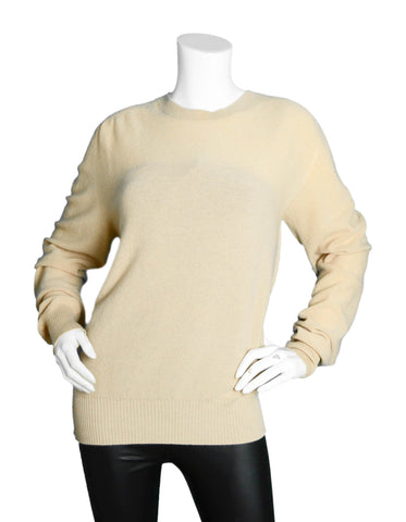 Tom Ford Men's NWT Beige Cashmere Sweater sz IT52/ XL