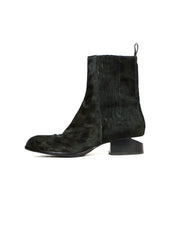Alexander Wang Black Calf Hair Anouck Shortboots sz 41