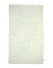 "Hermes White/Blue Terry Cloth Pegasus Towel 57"" x 37"""