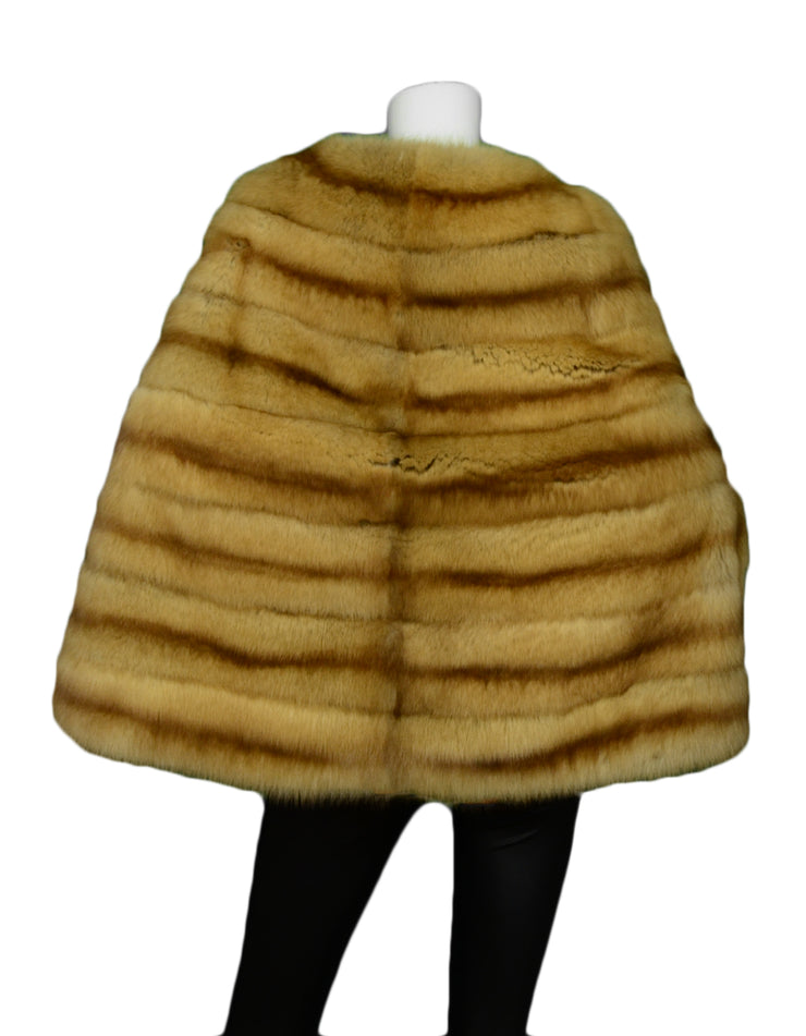 J Mendel Russian Golden Sable Poncho