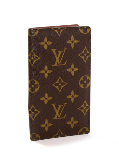 Louis Vuitton Monogram Checkbook Holder/ Wallet