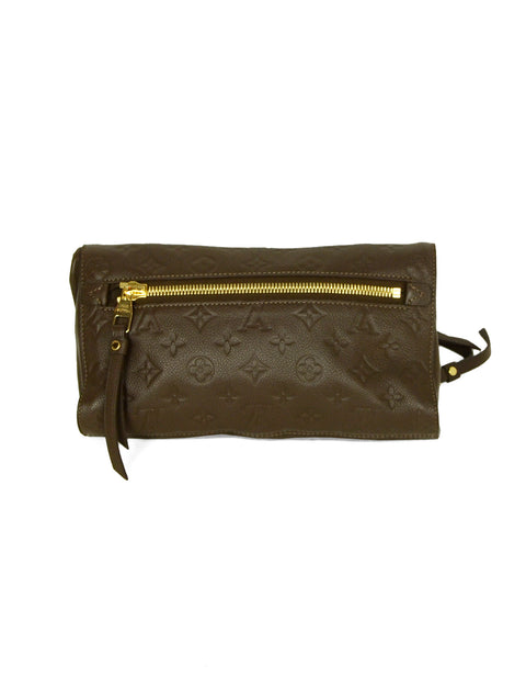 Louis Vuitton Ombre Leather Empreinte Monogram Petillante Clutch